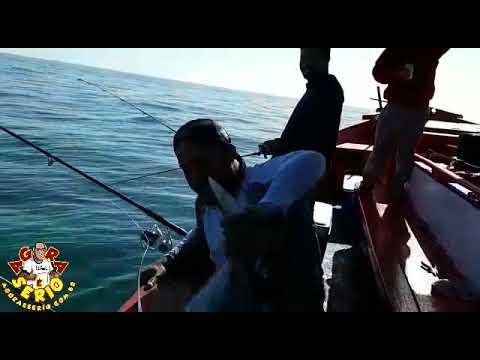 Veja porque os Pescadores de Juquitiba só Vomita em Alto Mar tudo Pão com Ovo não sabe nem amarrar o anzol