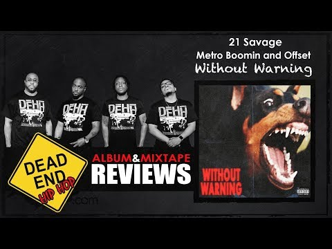 21 Savage, Metro Boomin, and Offset – Without Warning Album Review | DEHH