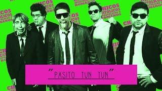 PASITO TUN TUN - CHICOS CATÓLICOS - LYRIC VIDEO
