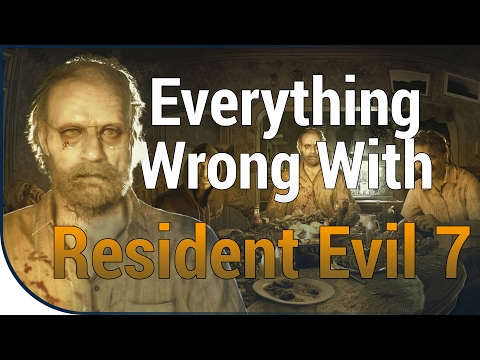 GAME SINS | Everything Wrong With Resident Evil 7: Biohazard