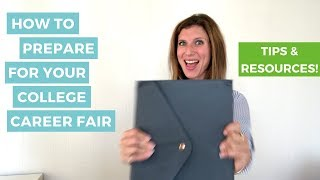 How to Prepare for Your College Career Fair     The Intern Hustle