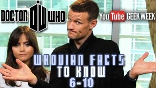 Дженна Коулман, 10 Whovian Facts You Need To Know