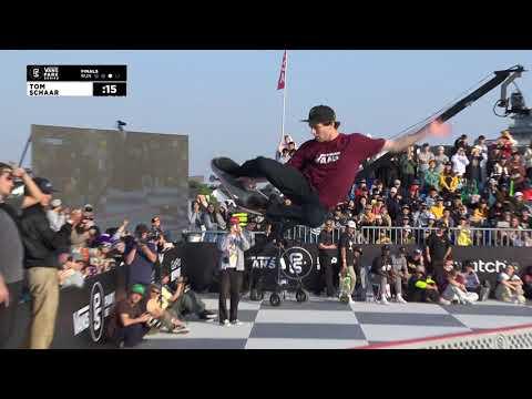 3rd Place - Tom Schaar (USA) 88.03   Suzhou, CHI   2018 Men's Vans Park Series Pro Finals