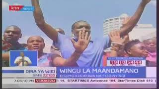 Makabiliano makali baina ya wafuasi wa NASA na kundi lijiitalo 'Nairobi Business Community'