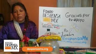 Beneficiaria de la Fundación Amigos de San Cristóbal