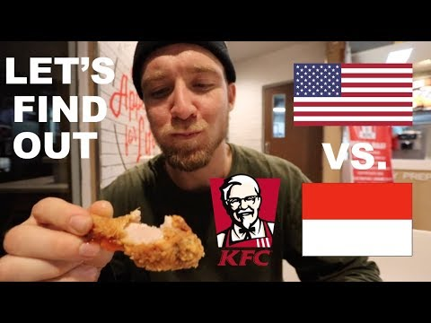 Is KFC in INDONESIA the same as AMERICA?