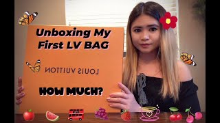 Unboxing My First Louis Vuitton Bag S.2020 | Filipina Lifestyle In America