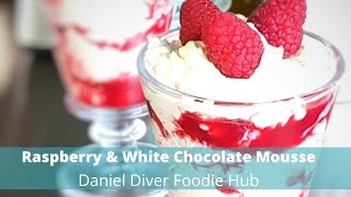 Raspberry Ripple & White Chocolate Mousse