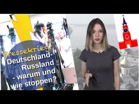 Pressekrieg Deutschland-Russland: Warum & wie stoppen? [Video]