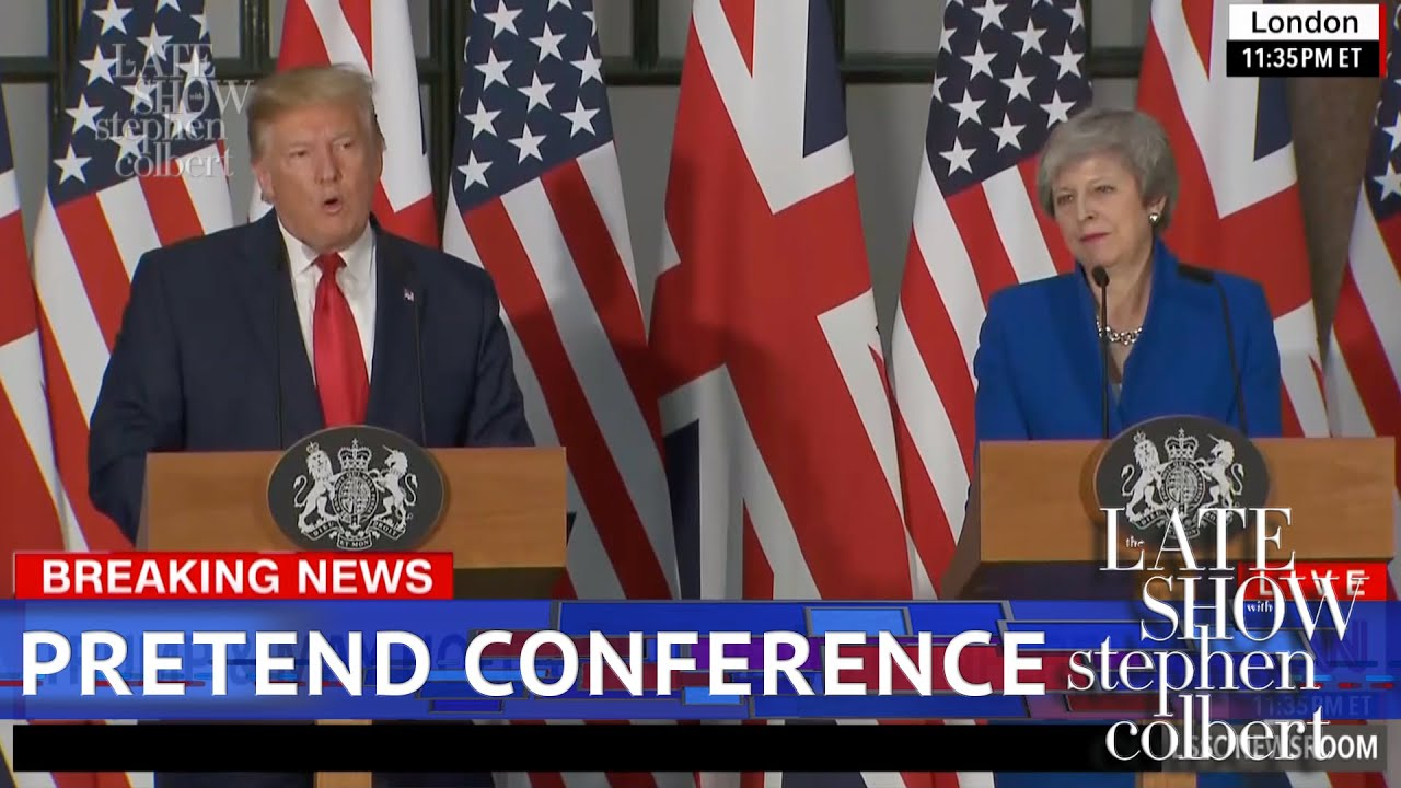 The Trump May Press Conference Got Weird thumbnail