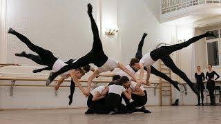 Школа-Студия готовится к Юбилейному концерту. Балет Игоря Моисеева.