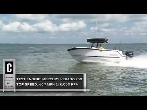 Blackfin 212 CC video