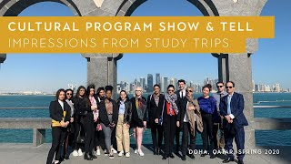 Cultural Program | Show And Tell: Impressions From Study Trips In 2019 And 2020