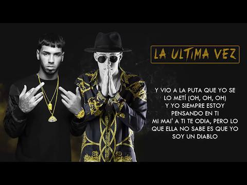 La Última Vez (Letra) - Anuel AA (Video)
