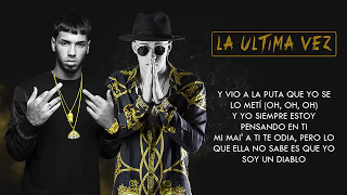 La Última Vez (Letra) - Anuel AA feat. Bad Bunny (Video)