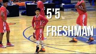 5'5 Freshman Yuki Okubo Plays HIGH LEVEL VARSITY Basketball! Confident Youngster