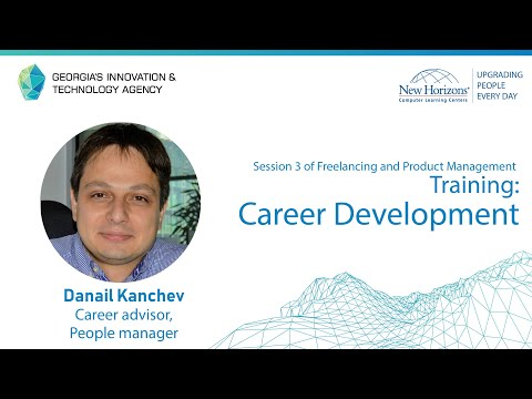 Career Development, Session 3 of Freelancing and Product ...