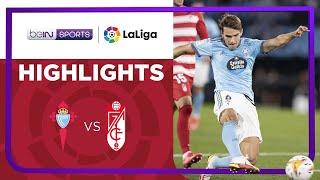 Celta Vigo 1-0 Granada Pekan 7