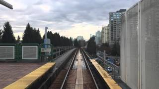 Vancouver Skytrain - Time Lapse (Expo Line)
