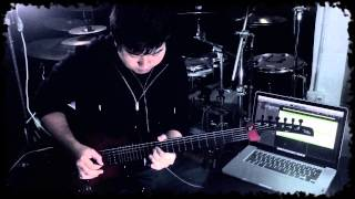 DragonForce -Trail of Broken Hearts (Guitar solo Cover)