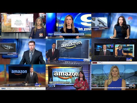 11 news stations air segment scripted by Amazon in advance of shareholder meeting