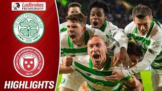 Celtic 2-1 Hamilton | Scott Brown's Last Minute Goal Seals Celtic's Victory | Ladbrokes Premiership