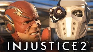 INJUSTICE 2 - СЮЖЕТКА - ФЛЭШ ПРОТИВ ДЭДШОТА! #3