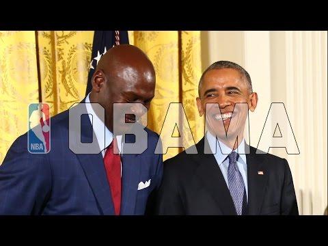 Barack Obama NBA Moments