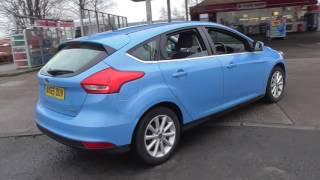 Ford FOCUS 1.0 EcoBoost 125 Titanium 5dr Auto U22667