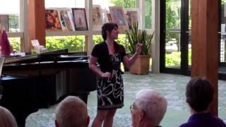 Taylor Johnson singing 'La Pastorella Dell'Alpi' (Rossini)