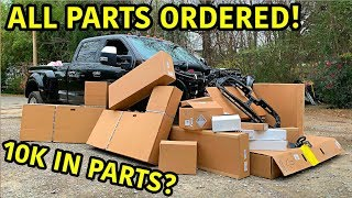 Rebuilding A Wrecked 2019 Ford F-450 Platinum Part 4