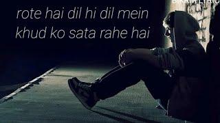 (lyrics) - Vicky Singh | Phir Bewafai (cover) | Ek   - YouTube