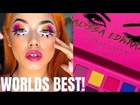 WORLDS BEST!? | NEW ANASTASIA BEVERLY HILLS X ALYSSA EDWARDS PALETTE TUTORIAL