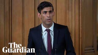 Rishi Sunak attends daily briefing on coronavirus outbreak – watch live