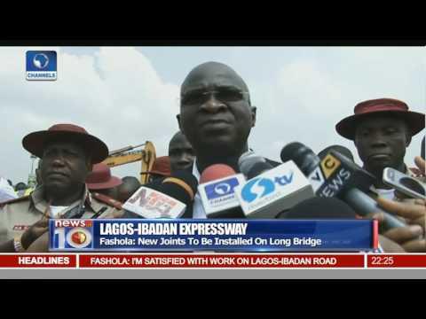 News@10: Fashola Inspects Lagos Ibadan Expressway 12/12/16 Pt 2