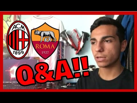 AC MILAN VS ROMA REVIEW + Q&A!