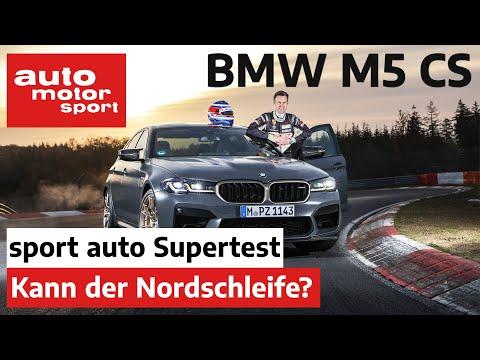 BMW M5 CS (2021): Leichter, aber auch schnell auf der Nordschleife?   sport auto Supertest
