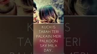 Kuch Is Tarha/Romantic Whatsapp Status/Atif Aslam/AZA whatsapp Status/Full scren whatsapp status