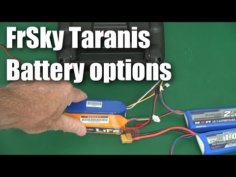 battery-options-for-the-frsky-taranis-rc-transmitter