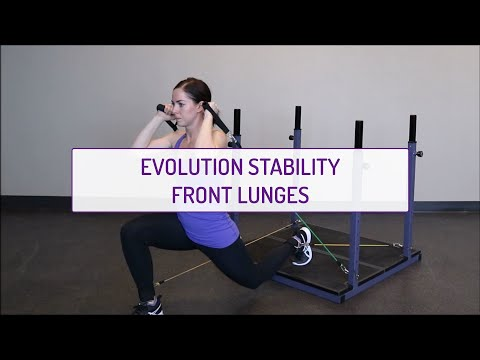 Evolution Stability Front Lunges