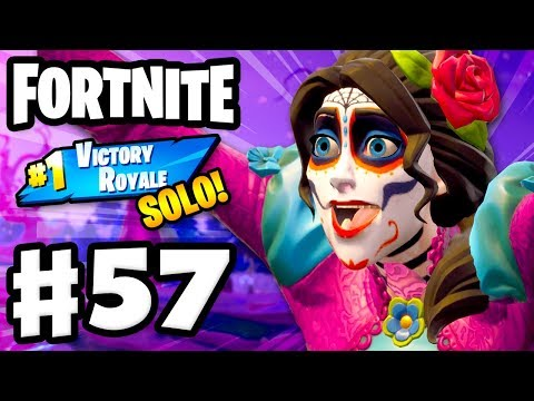 Fortnitemares SOLO #1 Victory Royale! - Fortnite - Gameplay Part 57