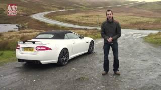 Jaguar XKR-S Convertible video review