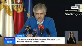 05/05: Ponto de Situação da Autoridade de Saúde Regional sobre o Coronavírus nos Açores