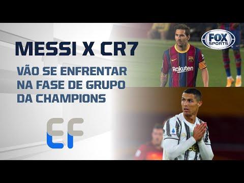 MESSI X Cristiano Ronaldo: Melhores do Mundo vão se enfrentar na fase de grupo da Champions League