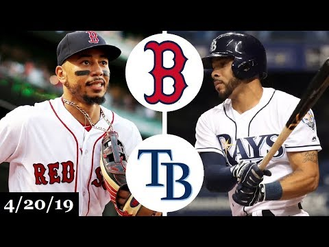 Boston Red Sox vs Tampa Bay Rays Highlights | April 20, 2019