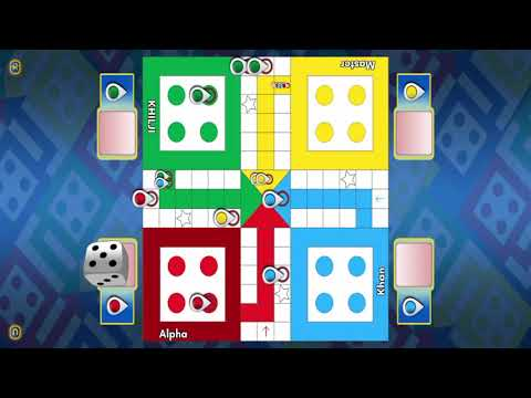 Ludo game in 4 players | in bangladeshi game | Must interesting | [magic game tuber]