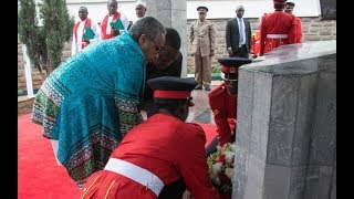 How President Uhuru celebrated the last public memorial services for the late Mzee Jomo Kenyatta