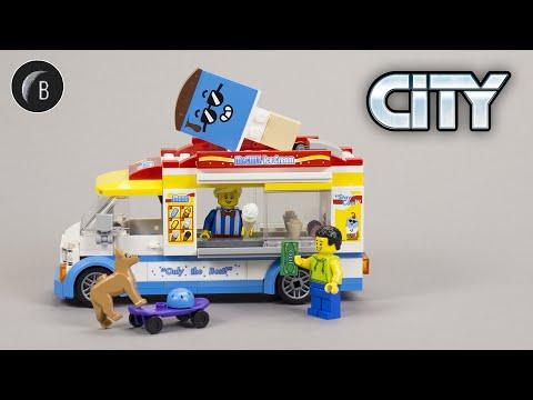 Vidéo LEGO City 60253 : Le camion du marchand de glace