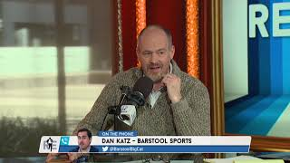 """Barstool Sports' Dan """"Big Cat"""" Katz Talks Michigan vs. Wisconsin w/Rich Eisen   2/18/19"""
