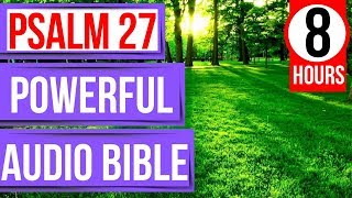 Psalm 27 (Encouraging Bible verses for sleep with God's Word)(Peaceful Scriptures psalms for sleep)